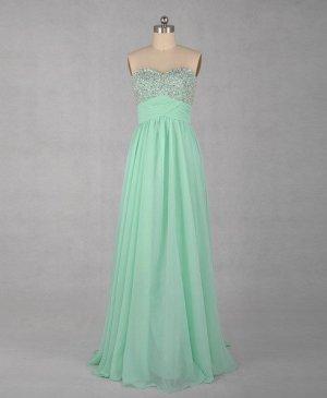 Custom Empire Prom Dress Evening Party Dress Bridesmaid Dress