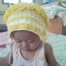 Vintage Crochet Hat (Headkerchief) for Little Girl