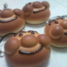 Mr.Bread Cute CELL PHONE DIGITAL CAMERA IPOD I-POD STRAP accessory PURSE ZIPPER KEYCHAIN