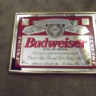 BUDWEISER & COORS Mirror Beer Signs Vintage LOT (2)