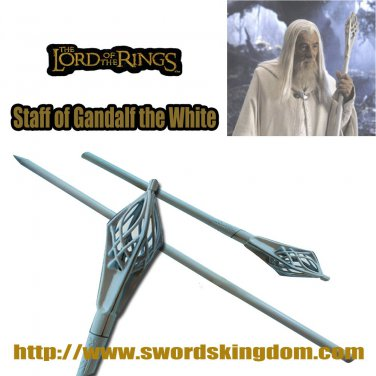 Staff of Gandalf the White - The Lord Of The Rings