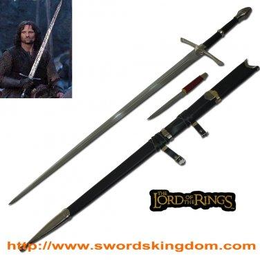 Aragorn Strider Ranger Sword with knife LOTR