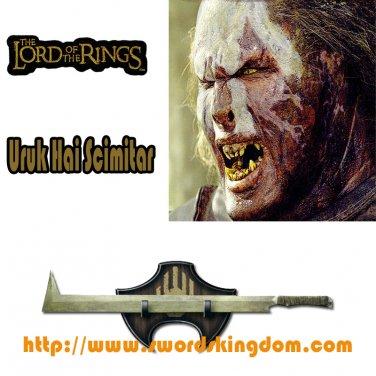 Uruk Hai Scimitar - Lord of the Rings