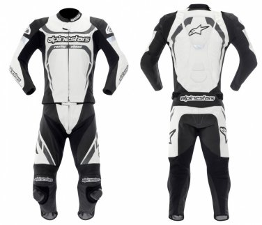 BRAND NEW ALPINE STAR MOTOR BIKE LEATHER RACING SUIT ORIGNAL COWHIDE LEATHER WITH FULL PROTECTION