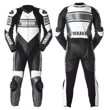 NEW YAMAHA MOTORBIKE LEATHER SUIT ORIGNAL COWHIDE REAL LEATHER WITH FULL PROTECTION FOR BEST RIDE