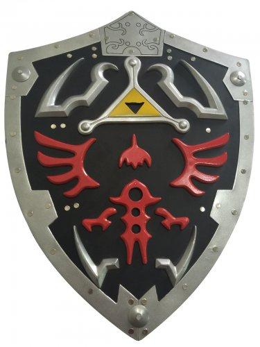Hylian Shield of Link Legend Of Zelda Metal Full Size Adult Link's Hylian Shield COLOR BLACK