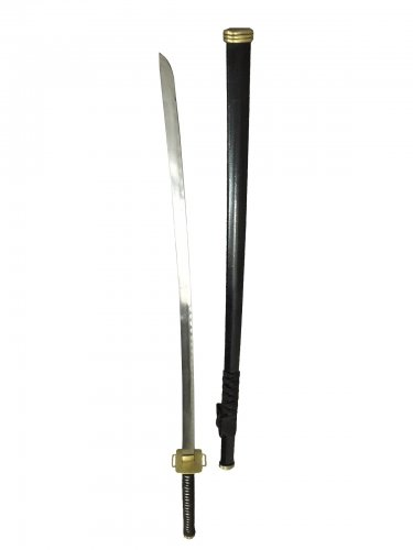 Anime swords of ninja katana Bleach Gin Ichimaru Shinso sword