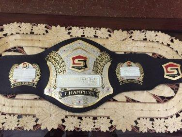 GB002 MMA UFC Rare Hand Made Strikeforce Grand Prix championship replica belt 51''