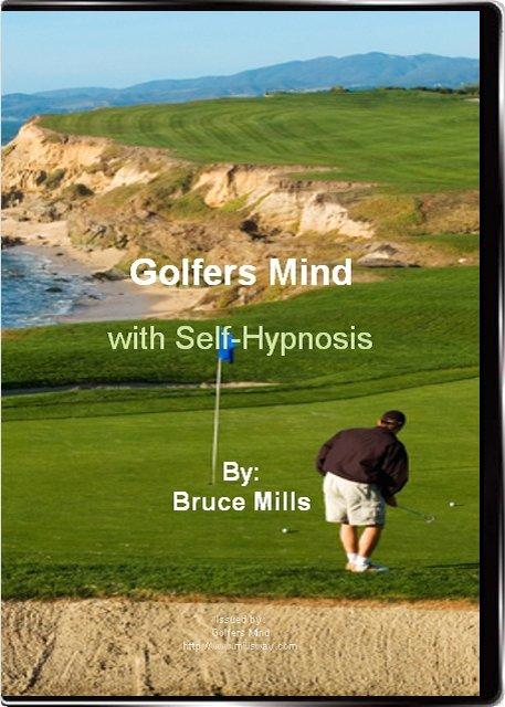 Golfers Mind Self Hypnosis CD