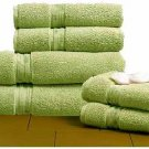 Egyptian Cotton 720 GSM 6 pcs Towel Set  Sage