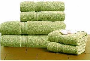 Egyptian Cotton 720 GSM 6 pcs Towel Set  Sage