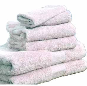 Egyptian Cotton 720 GSM 6 pcs Towel Set  White