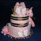 Gracey Giraffe Diaper Cake