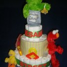 Sesame Street Themed Diaper Cake