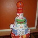 All Star Sport! Diaper Cake