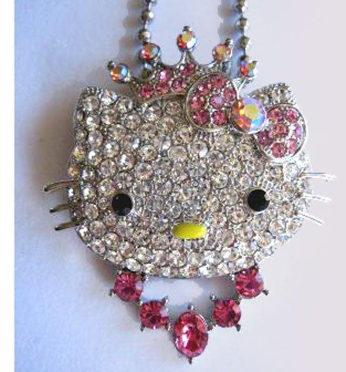 Hello Kitty Charm Pendant FREE Shipping