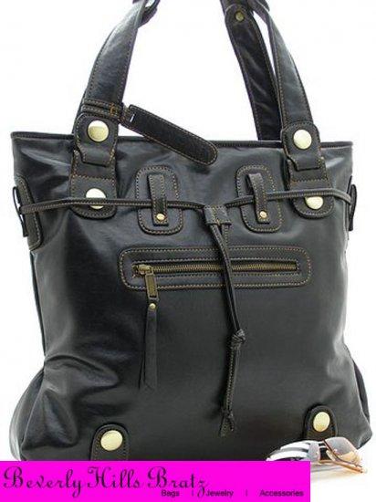 Parina Style Tote Bag, Black  FREE Shipping