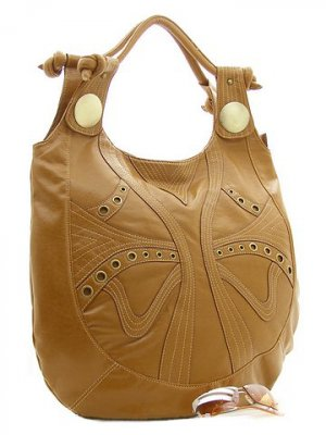 Betsey Vintage Hobo Bag, Walnut  FREE Shipping!