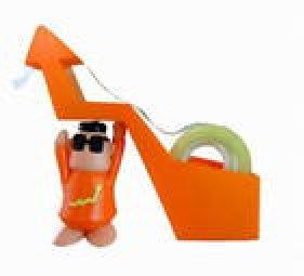Stock Up! tape dispenser