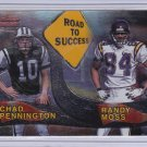 RANDY MOSS CHAD PENNINGTON 2000 BOWMAN ROAD TO SUCCESS