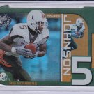 ANDRE JOHNSON 2003 PRESS PASS BIG NUMBERS