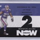 BRANDON JACOBS 2007 TOPPS GENERATION NOW
