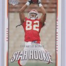 DWAYNE BOWE 2007 UPPER DECK ROOKIE