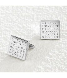 i � you word search cuff links