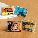 Superhero Stamp Cufflinks