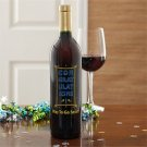 Congratulations! Personalized Bottles of Wine