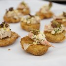 Fried Green Tomatos with Shrip Remoulade