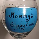 Mommys Sippy Cup In Blue