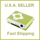 Cross Shape Mini Clip Mp3 Player Support 8 GB Micro SD Card