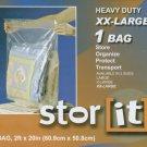 STOR IT HEAVY DUTY XXLG BAGS (2FT X 20IN)