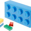2GB LEGO Block Mp3 Player Support Up To 8 GB Micro SD Card+ Earphones + USB Cables BLUE