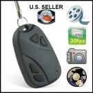 4GB Mini Car keychain Remote Control shaped Spy Digital Video Audio Camera Recorder Camcorder