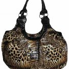 Fashion Tiger Print Hobo