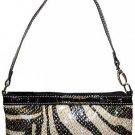 Glitter Zebra Mini Bag