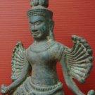 Brass Asian Amulet Khmer Angkor Buddha Statue Cambodian Dancing Style