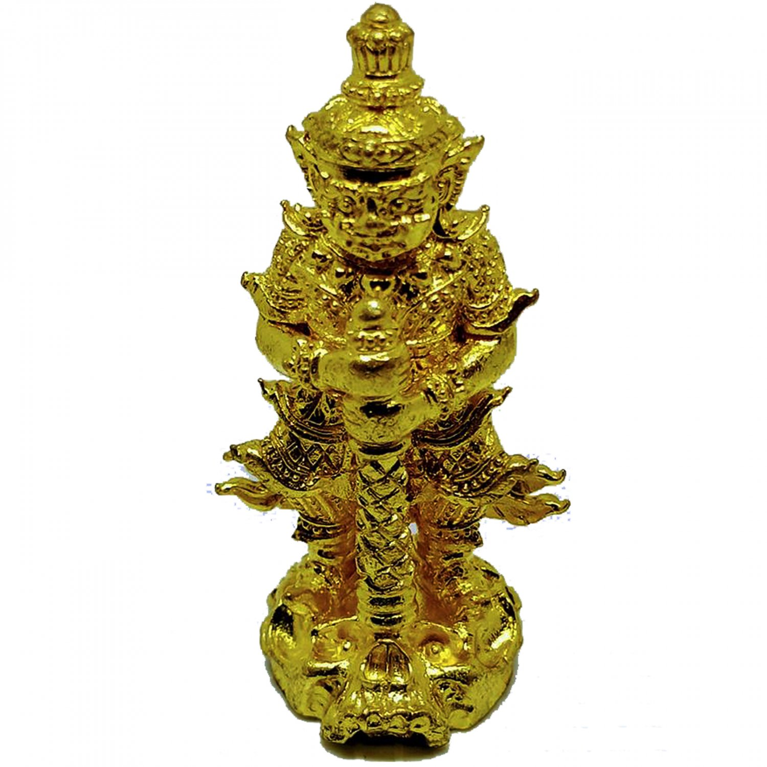 Thai Amulet Tow Wessuwan Giant Kuvera Rasun Sedthee Strong and Lucky for Life Magic