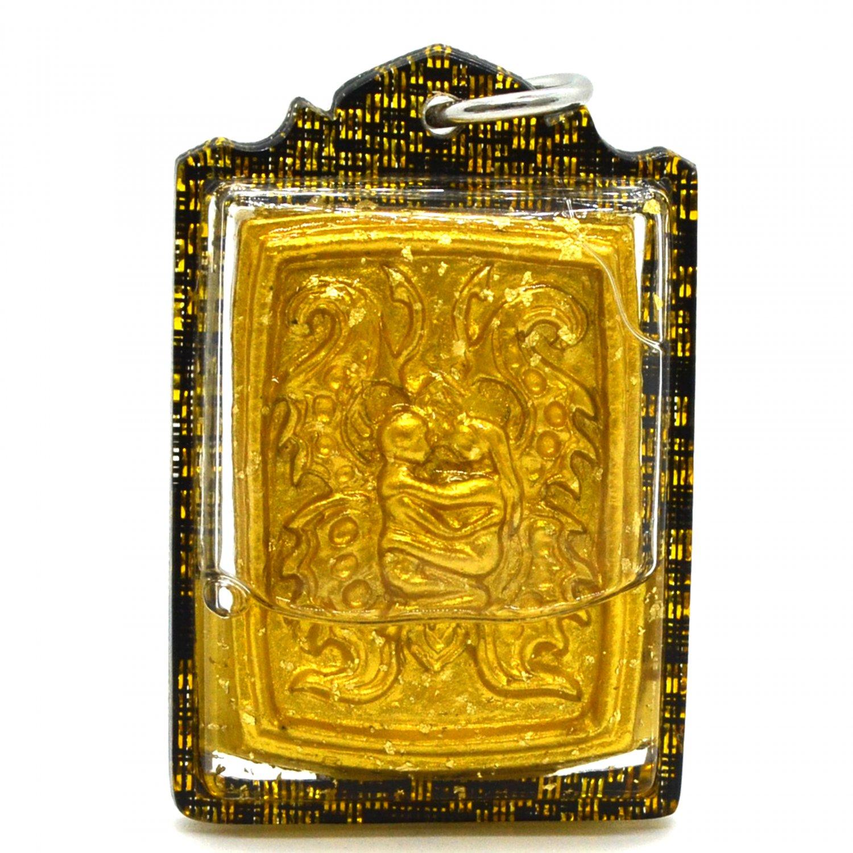 Thai Amulet Pendant Inn Koo Couple Lover Pendant Charming Magic Amulet Charm Gold Luck by Lp Aneck