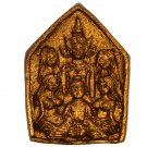 Magic Love Phra Khunpaen Gold Pendant Charming By Kruba Kampeng Charm Luck Love Attraction