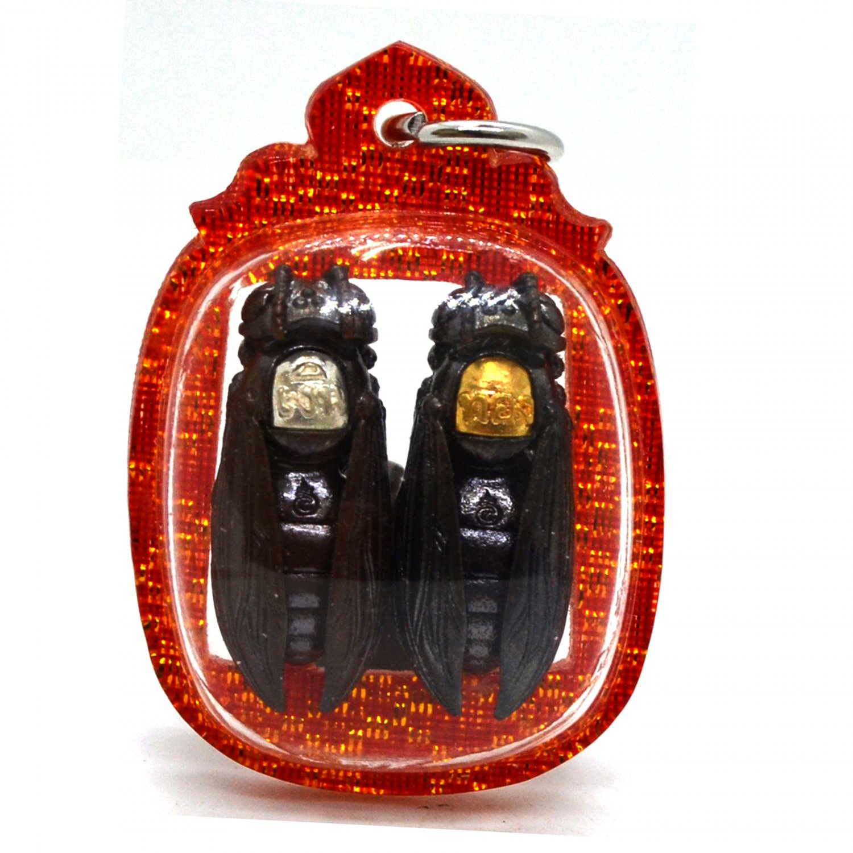 Powerfull Amulet Praya Tor Ngern Tor Tong Mahalaab Pendant by Kroba Tao