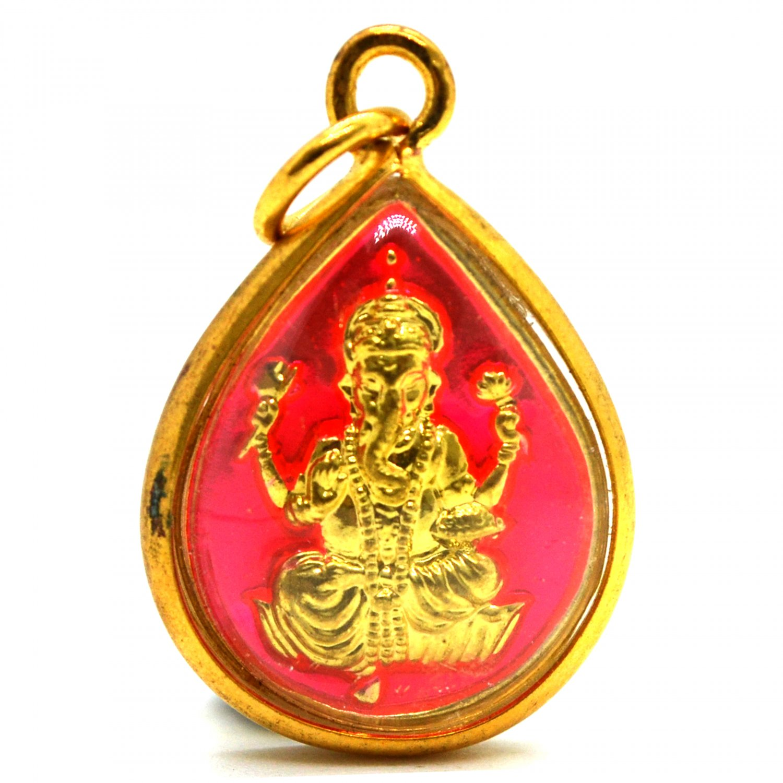 Lucky Hindu Amulet Ganesha Buddha Elephant Pendants Mens Womens Jewelry Hindu Deity God Success