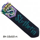 Bookmark Slytherin House Harry Potter 1 Embroidered