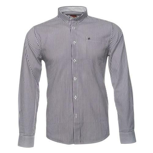 Merc Caine Navelette Navy Striped Shirt Mod RRP £55
