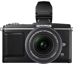 Olympus 12.3MP Interchangeable Lens Camera with 14-42mm Lens & Electronic View Finder