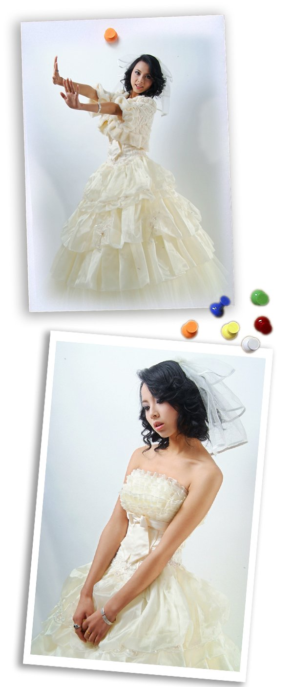 Custom Made- Barbie Princess Pleated Lace Wedding Dress White Cocktail Bridesmaid Ball Prom Gown