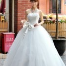 Custom Made- Bowknot Strapless Sexy Wedding Bride Dress Cocktail Bridesmaid Ball Prom Y2