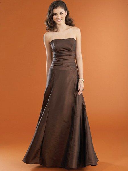 Designer Elegant Strapless Evening Dress 2011 Prom Bridesmaid Wedding